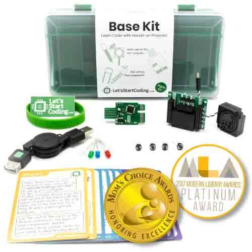 Let's Start Coding Base Kit