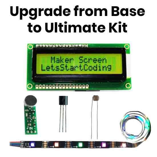 Upgrade a Let's Start Coding Base Kit to an Ultimate Kit