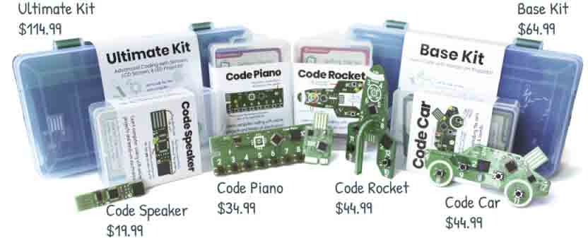 Let's Start Coding Kits for Kids